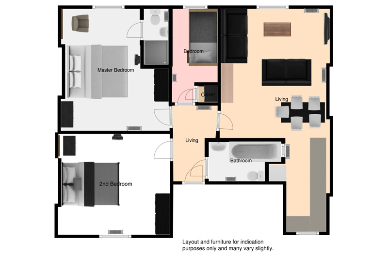 General Floorplan with Final Furniture