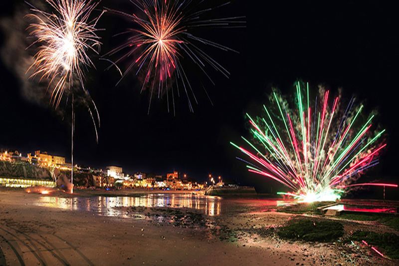Viking Bay Fireworks