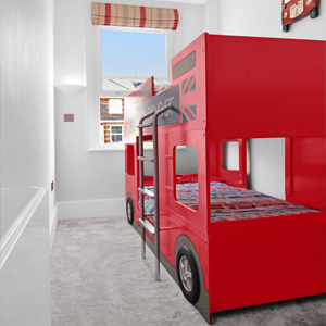 Home Page - Property Images - London Bus Kids Bunk Bed 300x300
