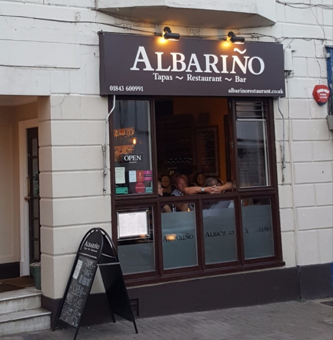 Albarion Tapas Restaurant Bar Shop front Broadstairs
