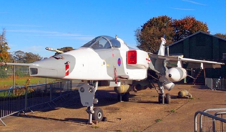RAF Manston - Jaguar
