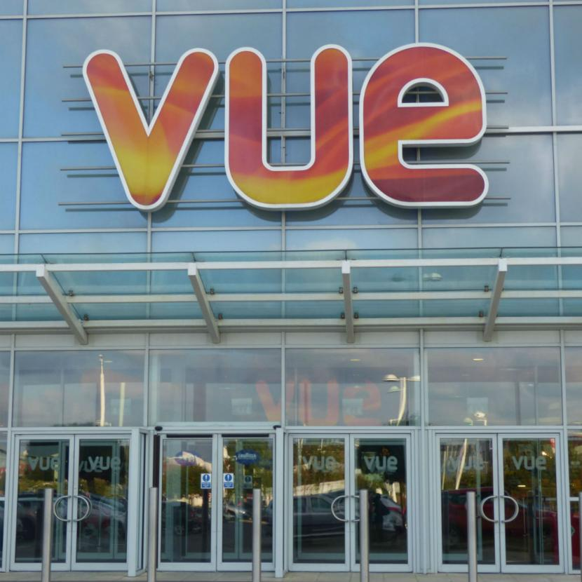 Vue Cinema External Close Up