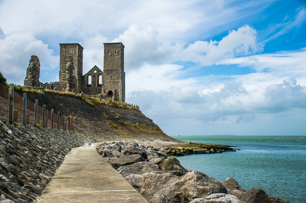 Reculver Tower Whitstable