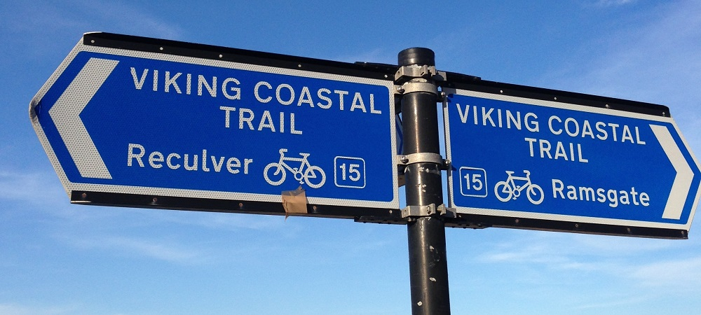 Viking Coastal Trail Sign