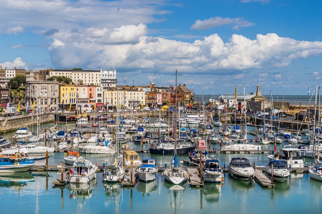 Ramsgate Harbour Boats Yachts Marina