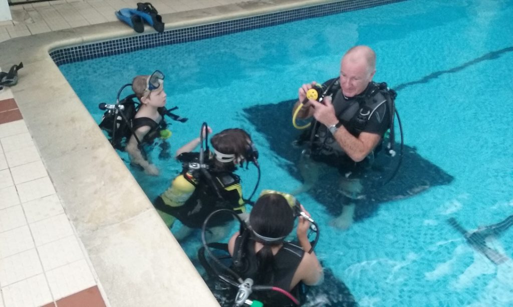 Scuba Class Instruction