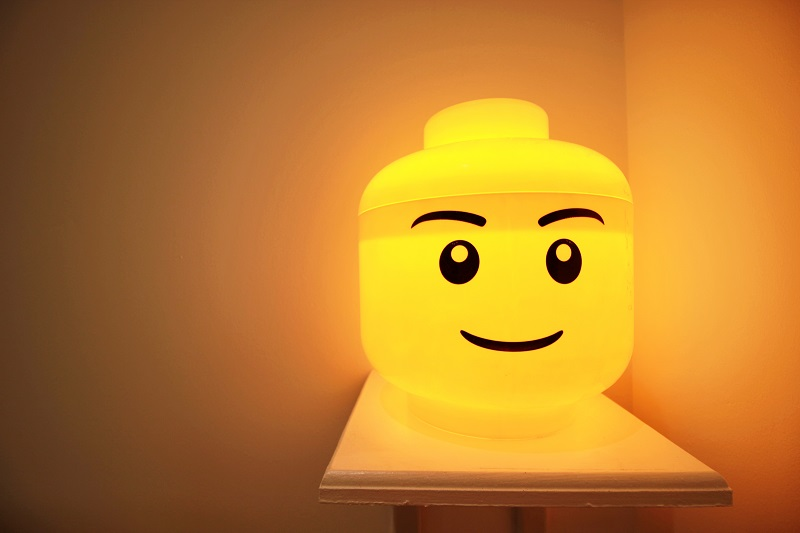 Lego Light in 2nd Bedroom - Margate Airbnb