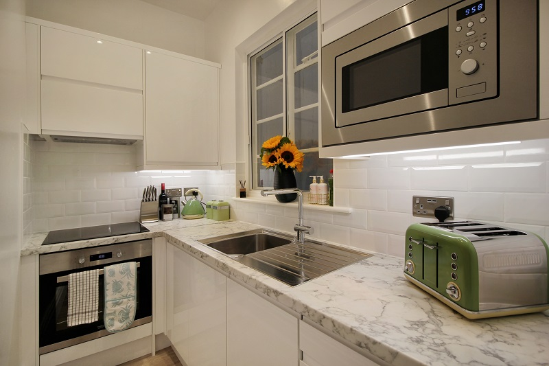 Kitchen with Dishwasher - Margate Airbnb